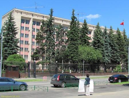 Консульский отдел посольства КНР