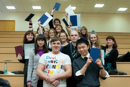 Иностранные студенты в России