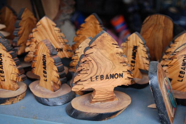Сувениры из ливанского кедра