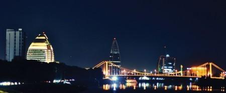 Ночной Хартум (столица Судана)