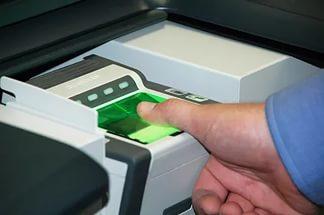 Процедура по снятию отпечатков пальцев