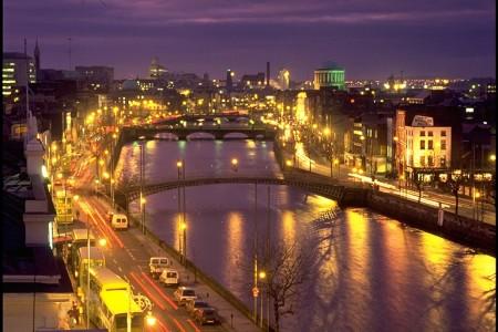 Город Дублин.