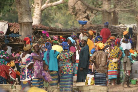Жители Мали