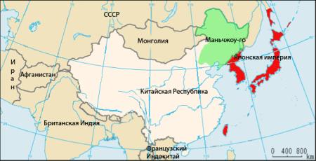 Государства-саттелиты на карте