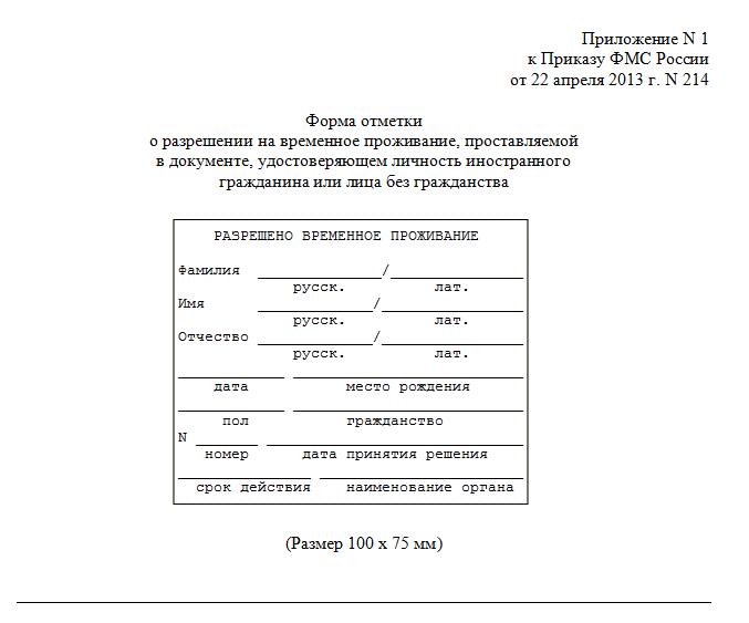 РВП в РФ