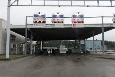 Граница Россия - Эстония