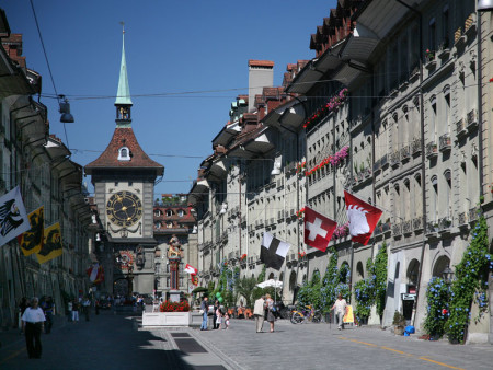 Изображение - Гостевая виза в швейцарию 467-bern-chasovaja-bashnja--450x338