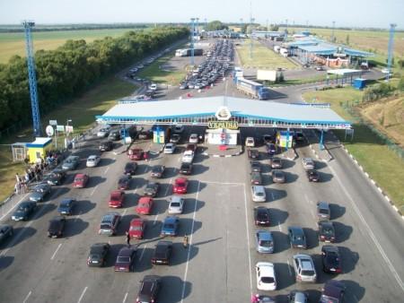 Прохождение границы Украины