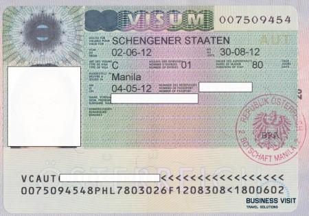 шенгенская виза Австрии