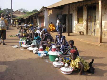 Рынок в Экваториальной Гвинее