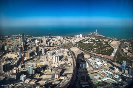 Кувейт с востока омывается Персидским заливом