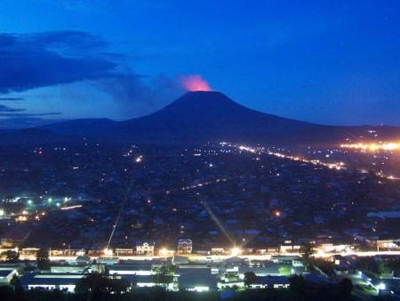 Вулкан в Конго