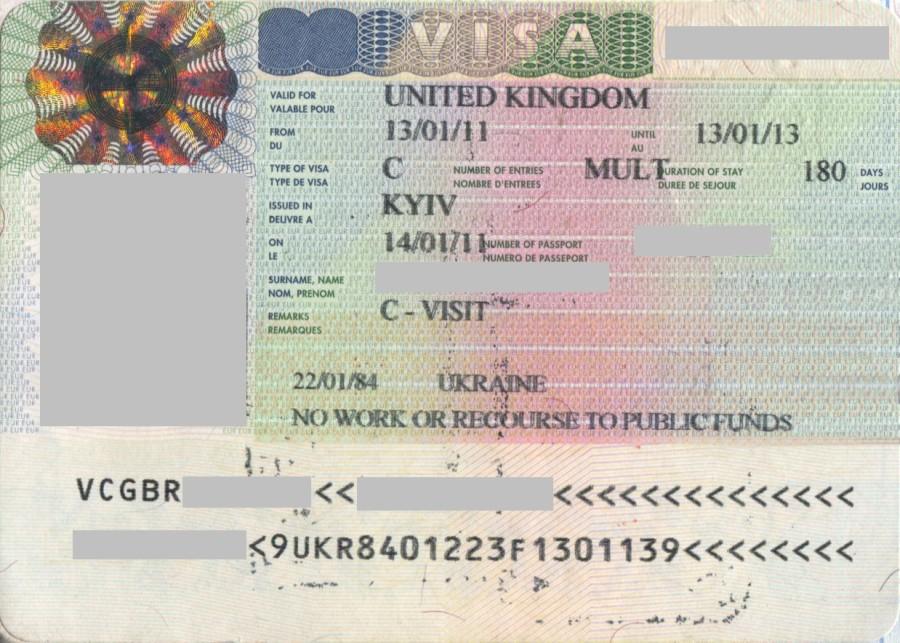 Виза или приглашение в англию