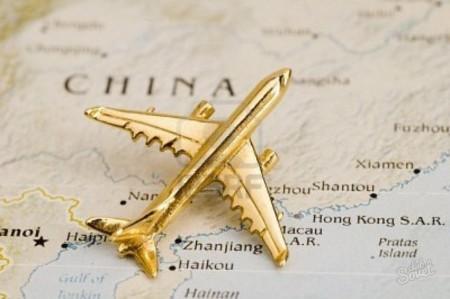 Самолет в Китай