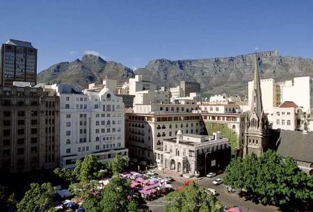 Кейптаун - второй по значению город в ЮАР