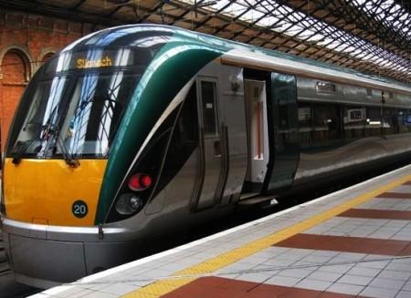Поезд в Ирландии