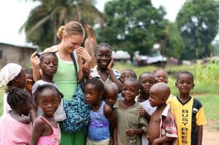 Работа с детьми в Африке