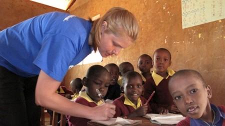 Школа в Африке