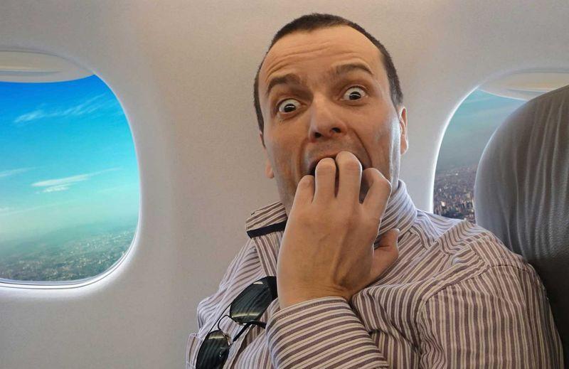 Страх полетов на самолете
