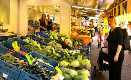Рынок в Словении