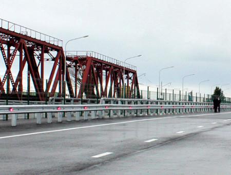 мост через реку Псоу