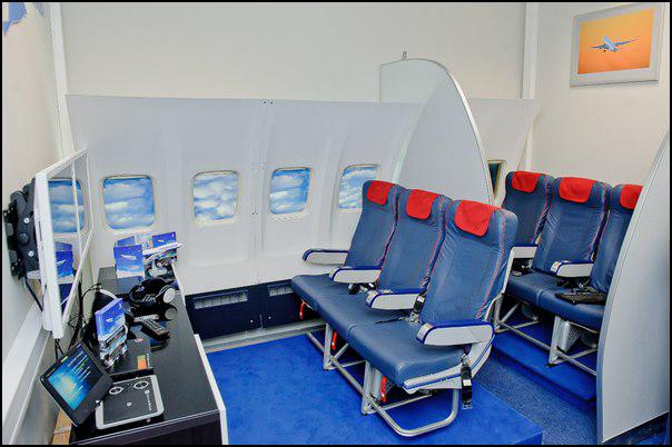 Тренажер виртуальной реальности. Самолет