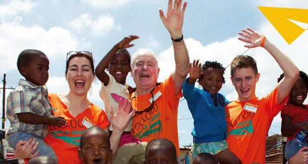 Помощь волонтеров в Африке