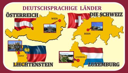 Немецкоговорящие страны