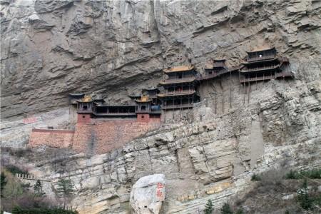 Висячий храм Сюанкунсы, провинция Шанси, Китай