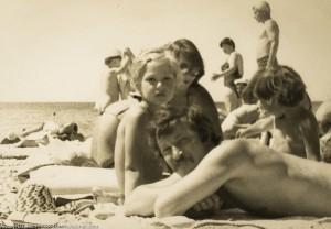 Пляж в СССР