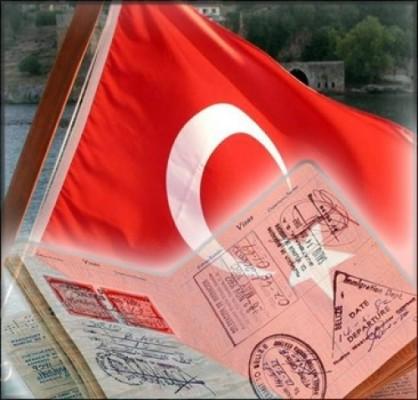 Флаг и виза в Турцию