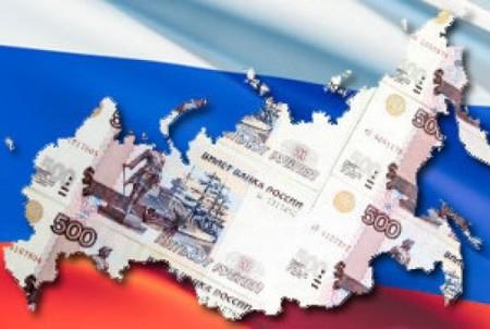 флаг и карта России
