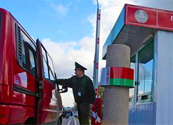 Таможенный контроль на границе с РБ
