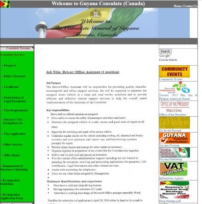 Сайт посольства Гайаны