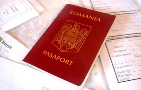 Паспорт Румынии