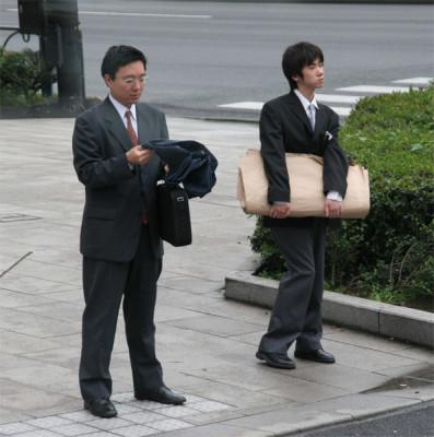 Соискатели работы в Японии