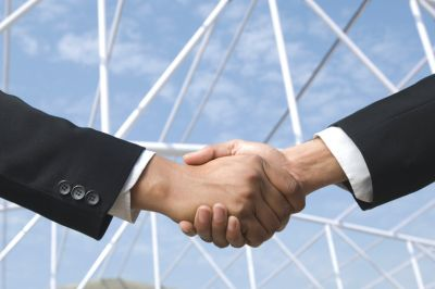 Договор, рукопожатие