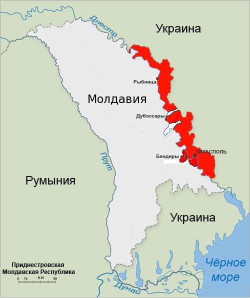 Карта ПМР