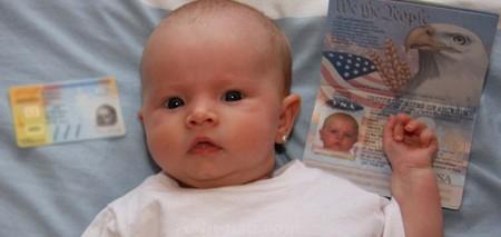 Ребенок, рожденный в США