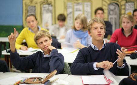 Немецкие школьники