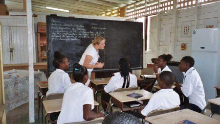 Преподаватель в Гайяне