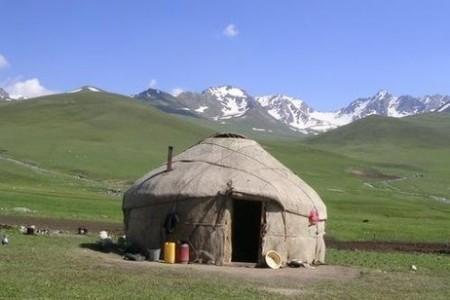 Дом в Киргизии