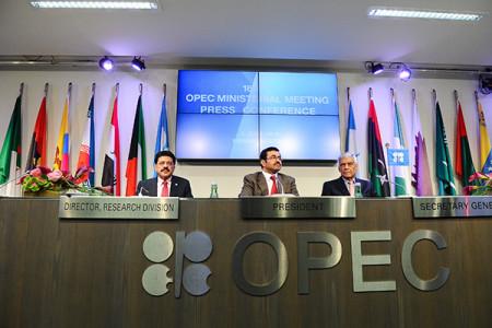 Заседание стран-участниц ОПЕК