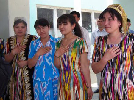 Узбекские женщины