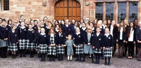 Школа для девочек в Англии
