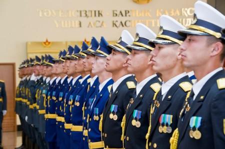 Военнослужащие Казахстана