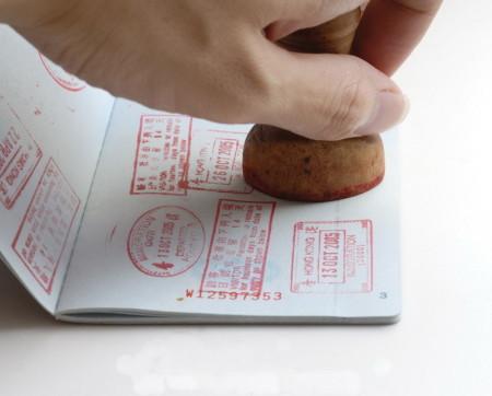 Виза в паспорт