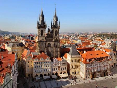 Тынский храм, Прага