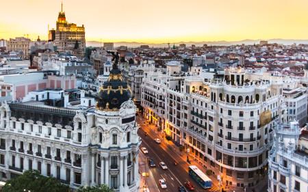 Мадрид, столица Испании