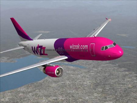 Самолёт фирмы WizzAir